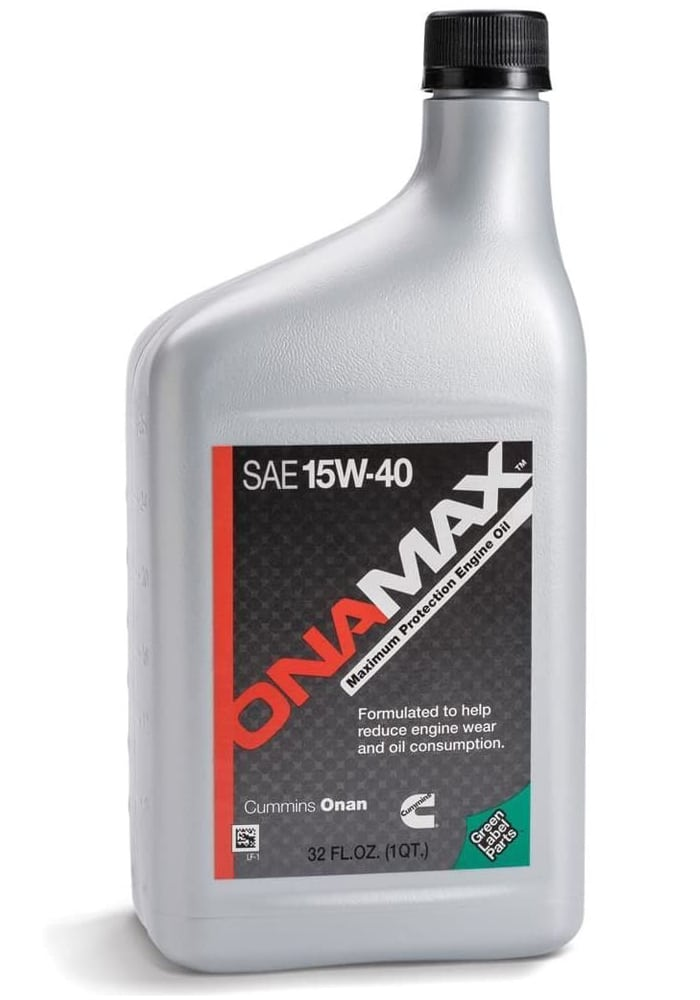 Cummins 3265336 Onan SAE 15W-40 Oil