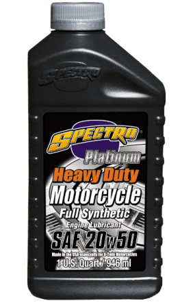 Spectro Heavy Duty Platinum Full Synthetic 20w50 Case of 12x1qt